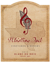 Whistling Duck Blanc du Bois (Dry)